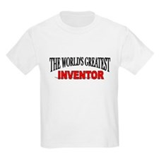 """The World's Greatest Inventor"" Kids T-Shirt"