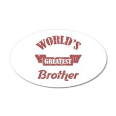 World's Greatest Brother Wall Decal