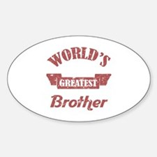 World's Greatest Brother Decal