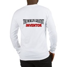 """""""The World's Greatest Inventor"""" Long Sleeve T-Shir"""
