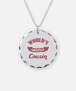 World's Greatest Cousin Necklace