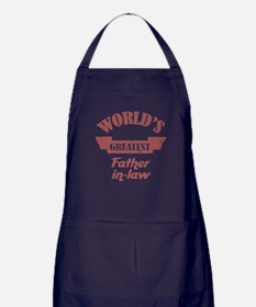 World's Greatest Father-In-Law Apron (dark)