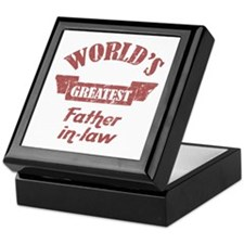 World's Greatest Father-In-Law Keepsake Box
