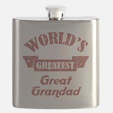 World's Greatest Great Grandad Flask