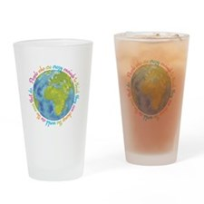 Change the world Drinking Glass