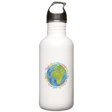 Change the world Water Bottle