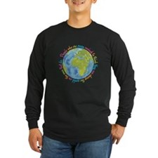 Change the world Long Sleeve T-Shirt