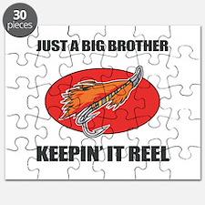 Big Brother Fishing Humor Puzzle