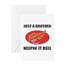 Brother Fishing Humor Greeting Card