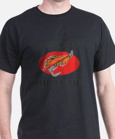 Brother-In-Law Fishing Humor T-Shirt
