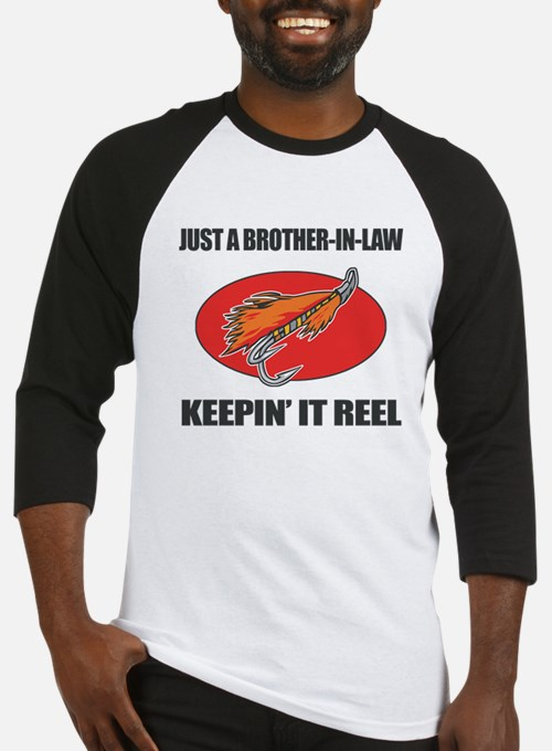 Brother-In-Law Fishing Humor Baseball Jersey