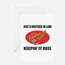 Brother-In-Law Fishing Humor Greeting Card