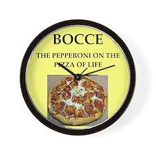 bocce, Wall Clock