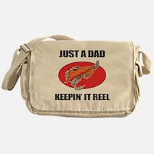Dad Fishing Humor Messenger Bag