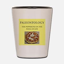 paleontology Shot Glass