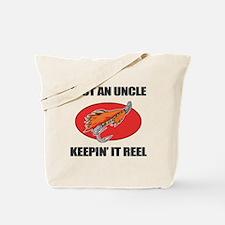 Uncle Fishing Humor Tote Bag