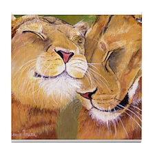 Girlfriends Tile Coaster