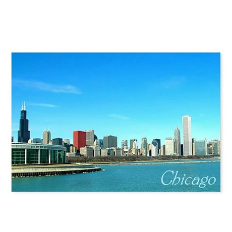 Chicago from the Museums Postcards (Package of 8)