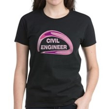 Pink Civil Engineer Tee
