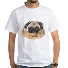 Adorable iCuddle Pug Puppy T-Shirt