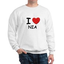 I love Nia Sweatshirt