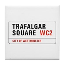 Trafalgar Square, London - UK Tile Coaster