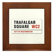 Trafalgar Square, London - UK Framed Tile