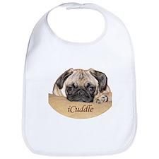 Adorable iCuddle Pug Puppy Bib