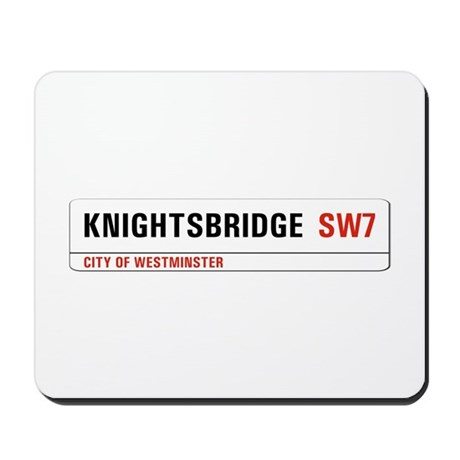 Knightsbridge, London - UK Mousepad