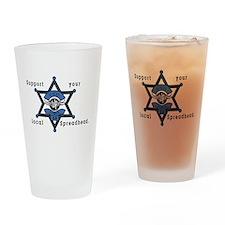 ATHENS, GA.tif Drinking Glass