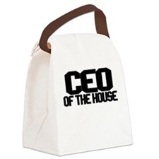 CEO OF THE HOUSE Canvas Lunch Bag