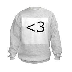 Emoticon Heart Sweatshirt