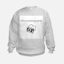 future photog.bmp Sweatshirt