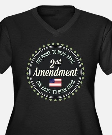 Second Amendment Plus Size T-Shirt