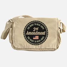 Second Amendment Messenger Bag