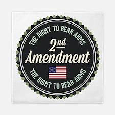 Second Amendment Queen Duvet