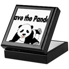 Save the Pandas Keepsake Box