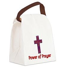 Power of Prayer Canvas Lunch Bag