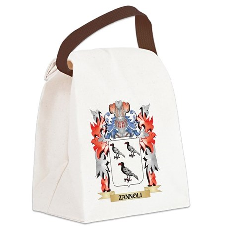 Zannoli Coat of Arms - Family Cre Canvas Lunch Bag