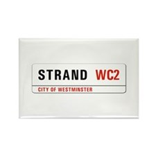 Strand, London - UK Rectangle Magnet