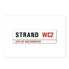 Strand, London - UK Postcards (Package of 8)