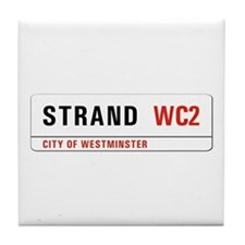 Strand, London - UK Tile Coaster