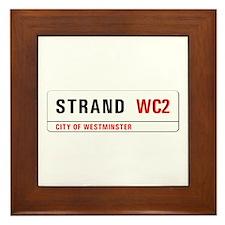 Strand, London - UK Framed Tile