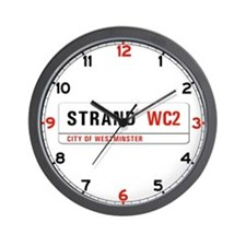Strand, London - UK Wall Clock