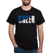 Cheer Black T-Shirt