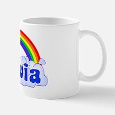 """""""Olivia Rainbow"""" Mug"""