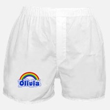 """Olivia Rainbow"" Boxer Shorts"
