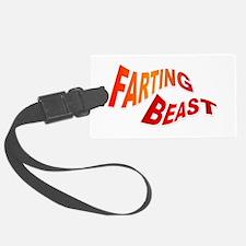 Farting Beast Luggage Tag