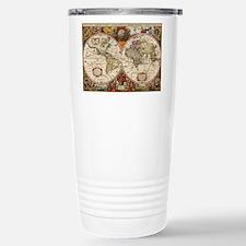 World Map 1630 Travel Mug
