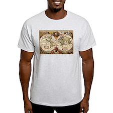 World Map 1630 T-Shirt